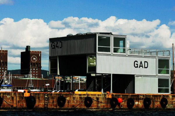 GAD mmw architects 7 GAD Mobile Art Gallery by MMW Architecture