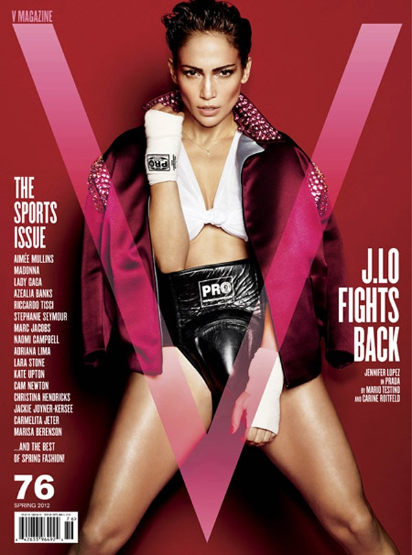 Jennifer Lopez for V Magazine 1