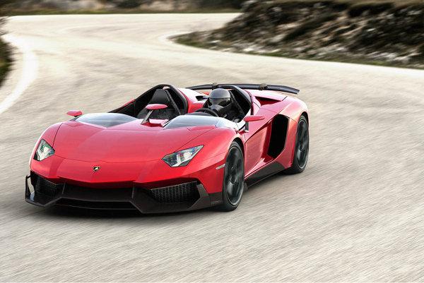 Lamborghini Aventador J Roadster 1