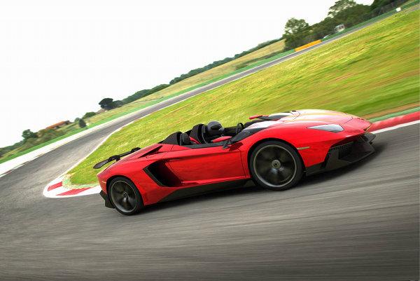 Lamborghini Aventador J Roadster 3