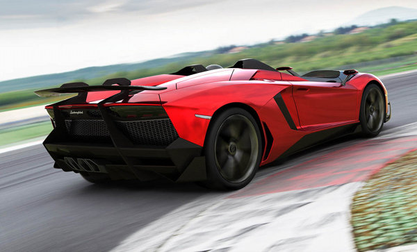 Lamborghini Aventador J Roadster 5