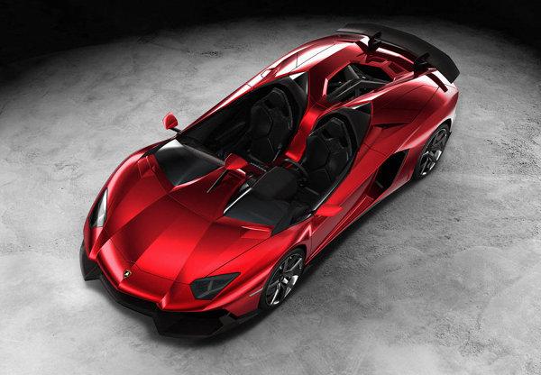 Lamborghini Aventador J Roadster 9