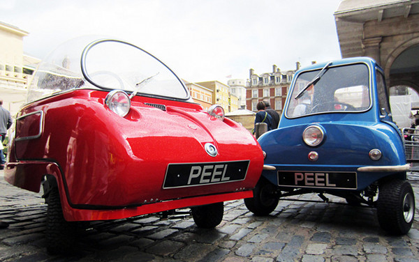 Peel Electric Mini Cars 1 Peel Electric Mini Cars