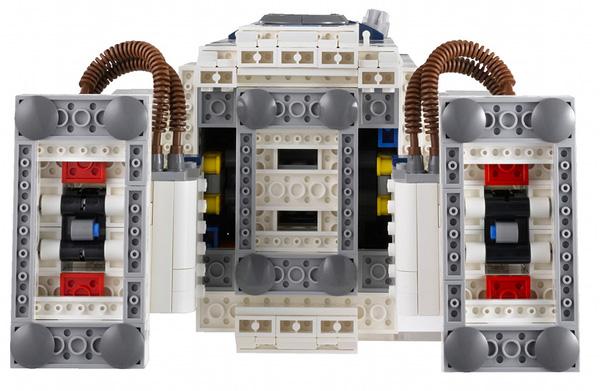 R2D2 Lego Star Wars Kit 3