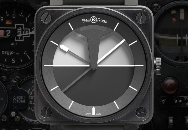 bellross horizon 600x416 The BR 01 Horizon watch by Bell & Ross