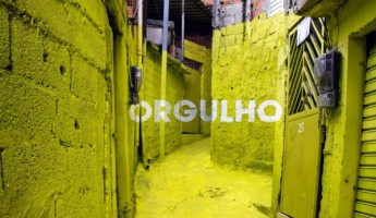 Favela Graffiti Art Project by Boa Mistura