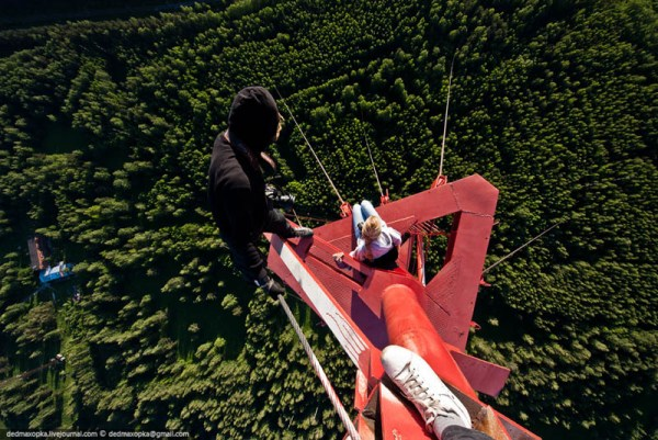 death defying photography vadim mahorov dedmaxopka 7 Terrifying Heights by Vadim Mahorov