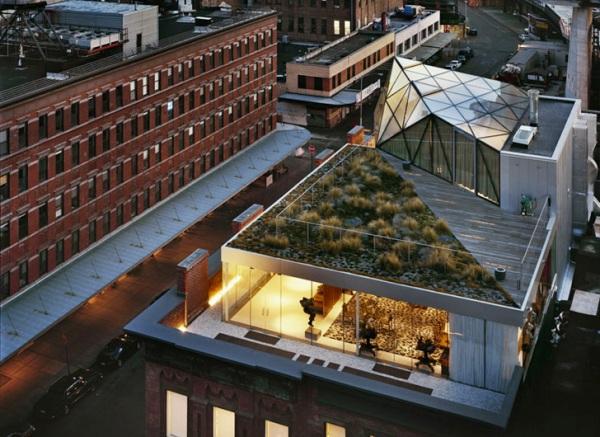diane von furstenberg apartment 2 Diane Von Furstenburgs Glass Penthouse