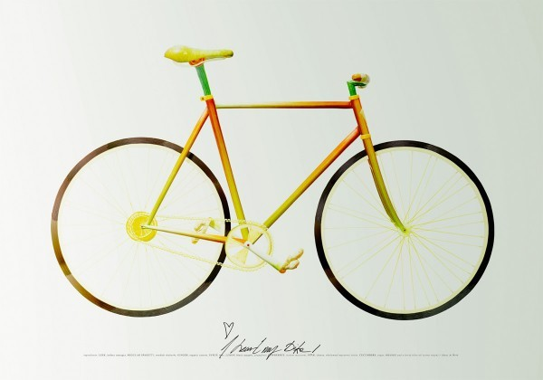 fixed gear out of food 1 Edible Fixed Gear Bike