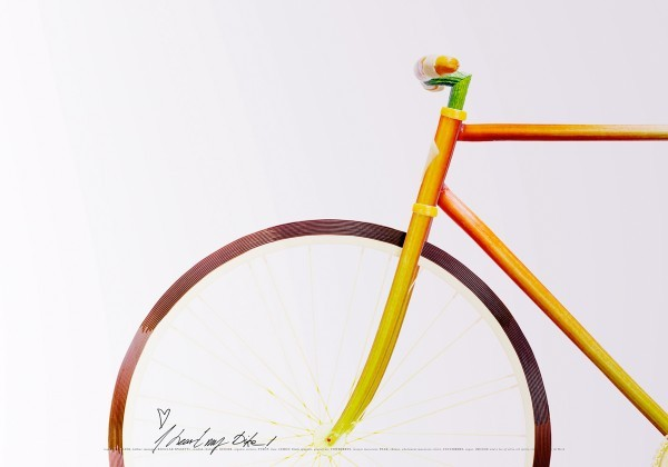 fixed gear out of food 4 Edible Fixed Gear Bike