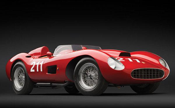 1957 Ferrari 625 TRC Spider 1 1957 Ferrari 625 TRC Spider