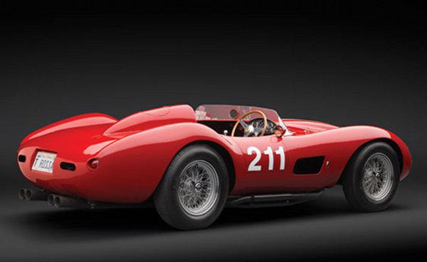 1957 Ferrari 625 TRC Spider 2 1957 Ferrari 625 TRC Spider