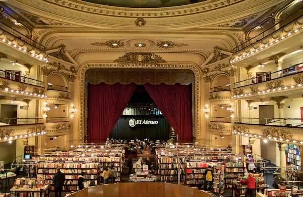 Grand splendid theater buenos aires argentina bookstore 1 Renovated Theater Book Store in Buenos Aires