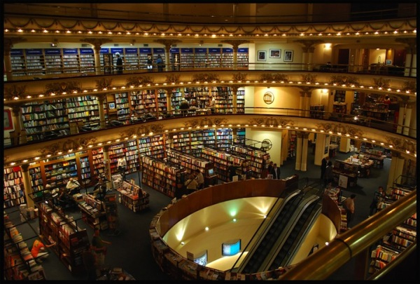Grand splendid theater buenos aires argentina bookstore 2