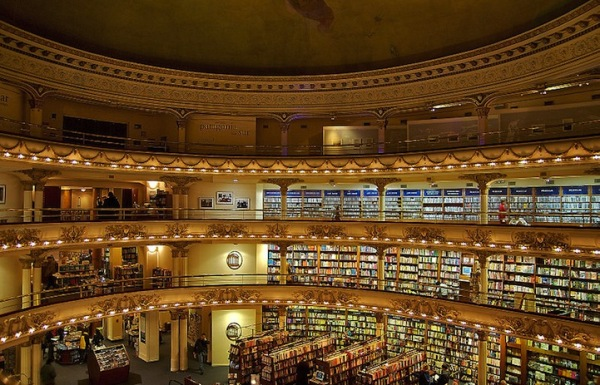 Grand splendid theater buenos aires argentina bookstore 3 Renovated Theater Book Store in Buenos Aires