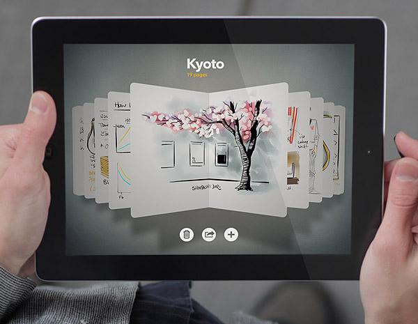Paper iPad App 1 Paper iPad App