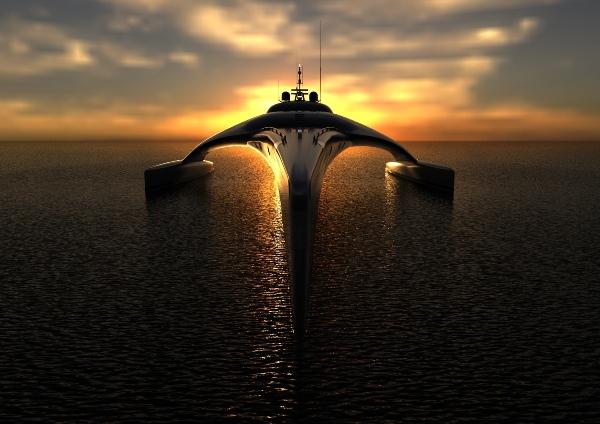 adastra bow sunset web 2 Adastra Yacht by John Shuttleworth