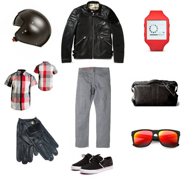 dockers post two main image Spring Speed: Motorcycle Style from Home to the Office