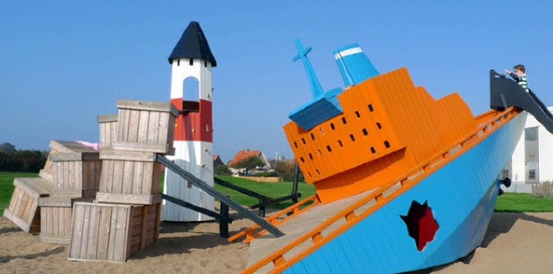 Fascinating Playscapes by Monstrum