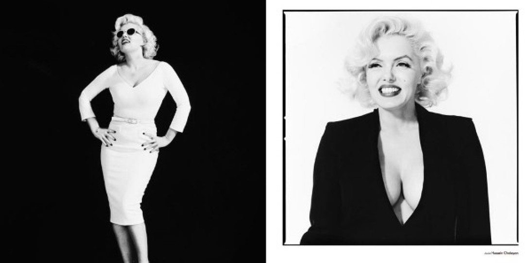 Suzie Kennedy as Marilyn Monroe for Used Magazine