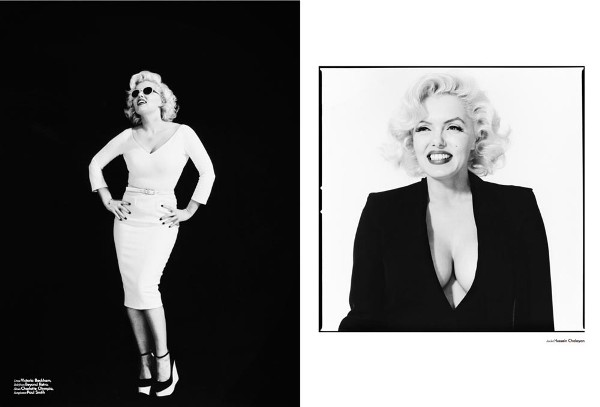 suzie kennedy as marilyn monroe.jpg 6 Suzie Kennedy as Marilyn Monroe for Used Magazine