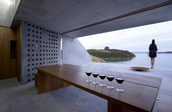 wiroa station wine cellar by MAP architects 1 Wiroa Station Wine Cellar by MAP Architects