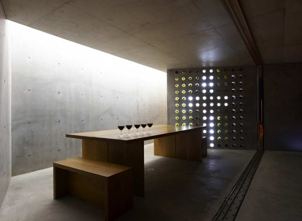 wiroa station wine cellar by MAP architects 7