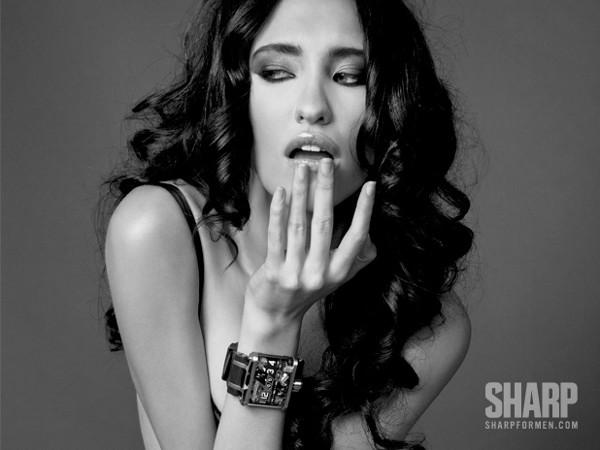 7 Watches and 7 Women by Sharp Magazine 1