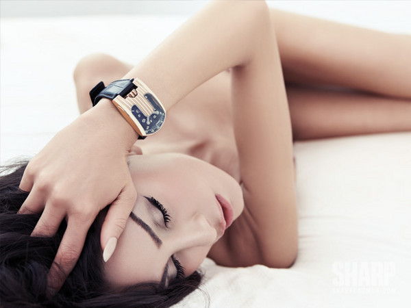 7 Watches and 7 Women by Sharp Magazine 7