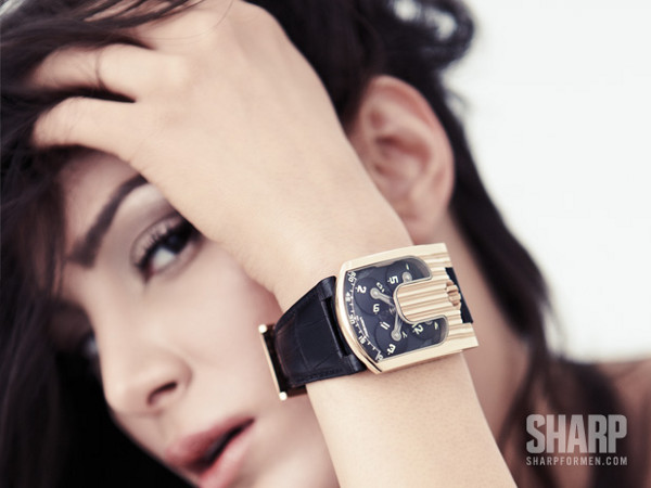 7 Watches and 7 Women by Sharp Magazine 8
