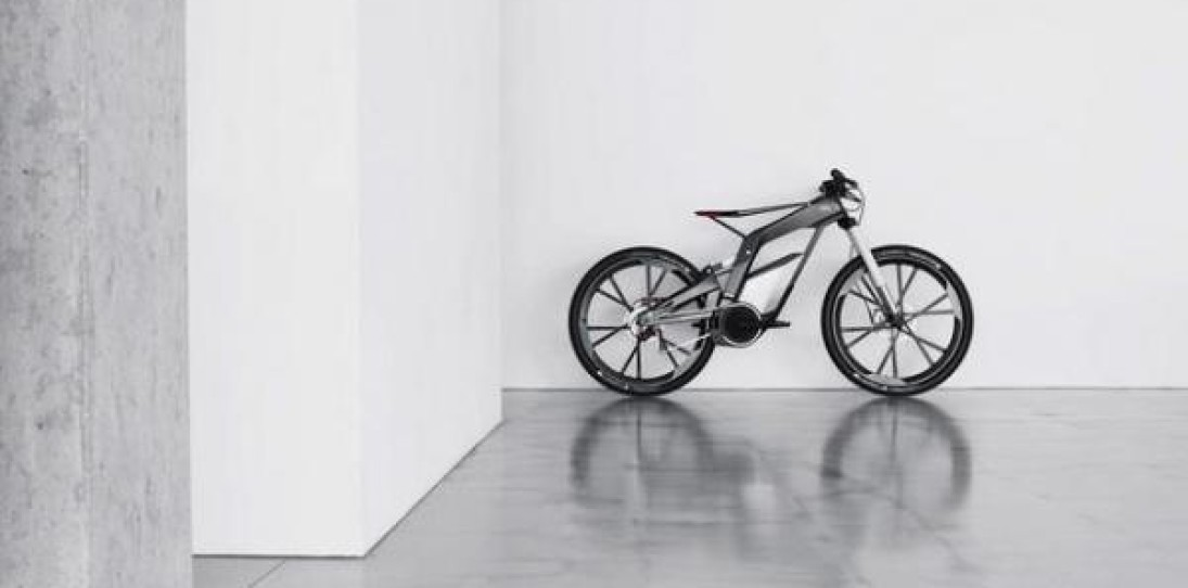 E-Tron Spyder Bike by Audi