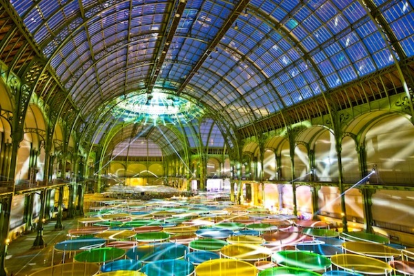 cariobu jamie xx and four tet rock a psychadellicaly transformed grand palais 5 Monumenta 2012 at Grand Palais