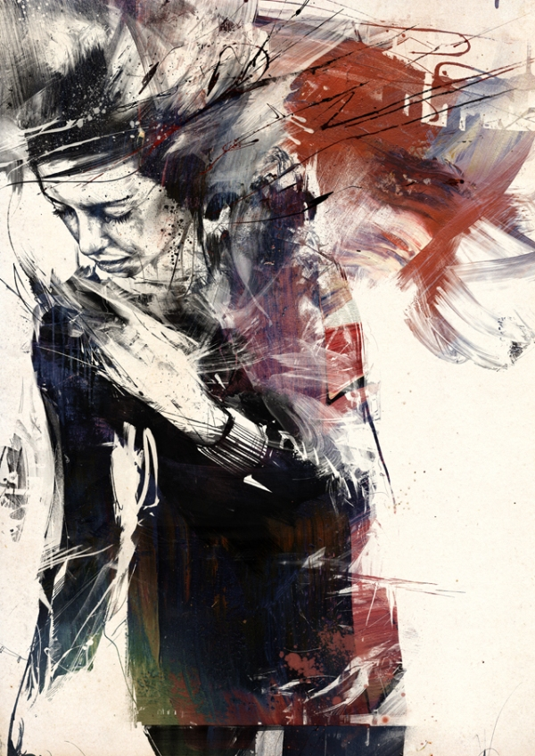 digitally assembled paintings by russ mills 5 Digital Paintings by Russ Mills