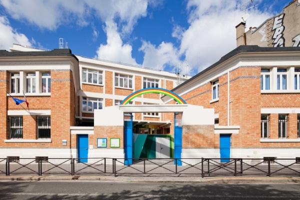 ecole maternelle pajol paris france school 1 Ecole Maternelle Pajol School in Paris