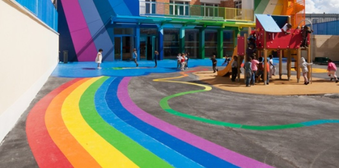 Ecole Maternelle Pajol School in Paris