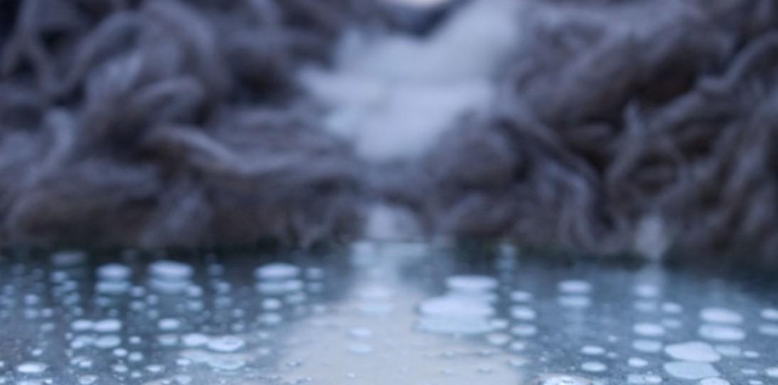 Wool Landscape Art by Eszter Burghardt
