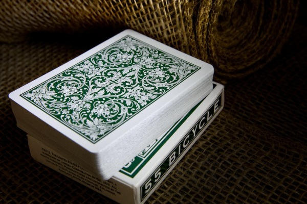 heritage design bicycle playing cards 5