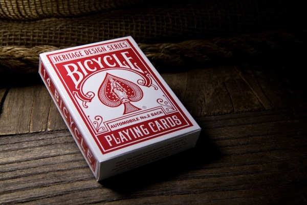 heritage design bicycle playing cards 6