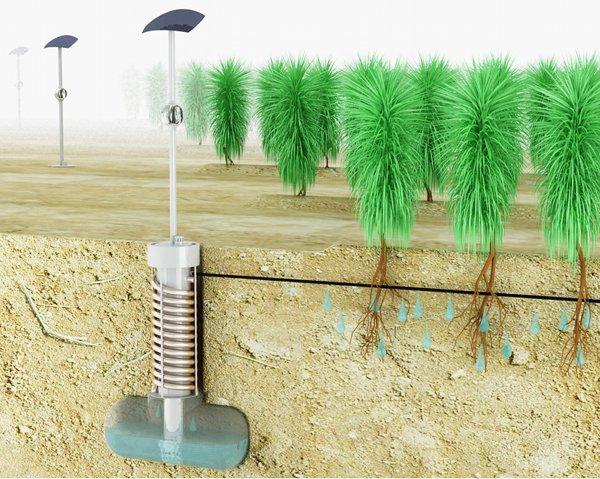 AirDrop Irrigation Water Source