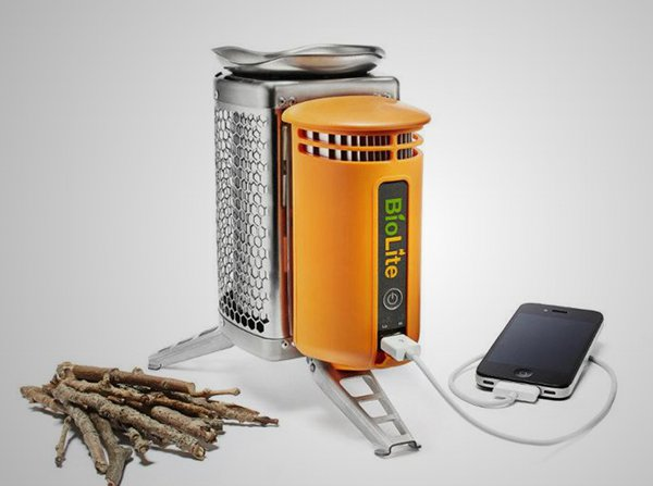 BioLite CampStove and USB Charger 1 Design for a Purpose: 10 Revolutionary Designs for a Better World