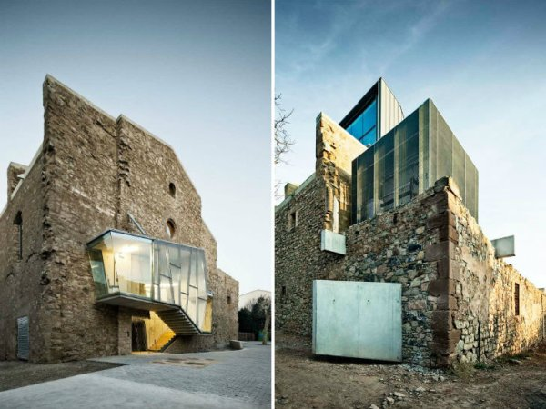 Convent de Sant Francesc David Closes 2 Crumbling Sant Fransesc Church by David Closes