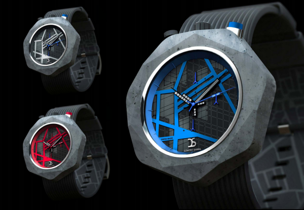 The Concrete Watch by dzmitry samal 1 Concrete Watch by Dzmitry Samal