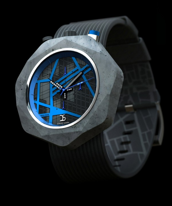 The Concrete Watch by dzmitry samal 2 Concrete Watch by Dzmitry Samal
