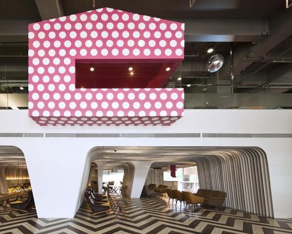 bu lounge by supermachine studio architecture 1 Bangkok University Lounge by Supermachine Studio