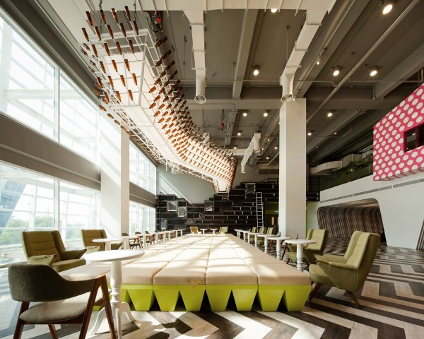 bu lounge by supermachine studio architecture 2 Bangkok University Lounge by Supermachine Studio
