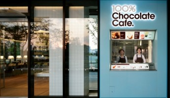 100% Chocolate Cafe in Tokyo