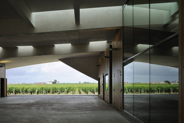 christian de portzamparc chateau chevel blanc winery architecture 10