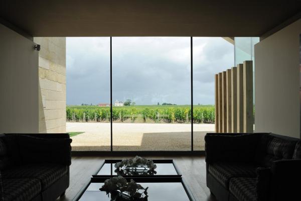 christian de portzamparc chateau chevel blanc winery architecture 11
