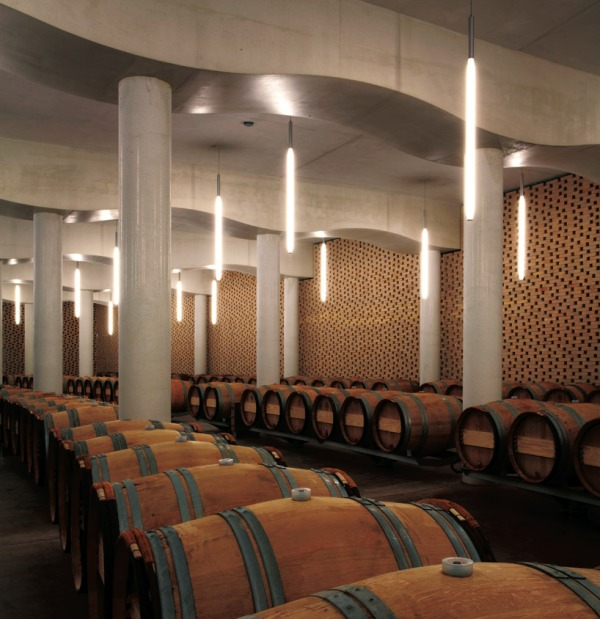 christian de portzamparc chateau chevel blanc winery architecture 17