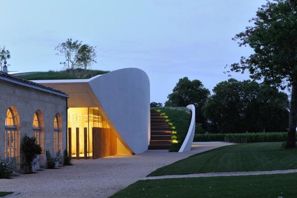 christian de portzamparc chateau chevel blanc winery architecture 19